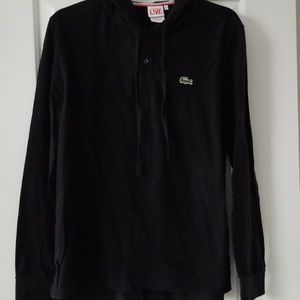 Lacoste mens hoodie pullover